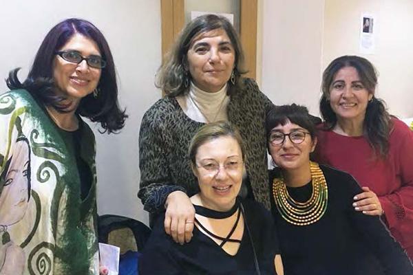 ARIT Ankara Library staff
